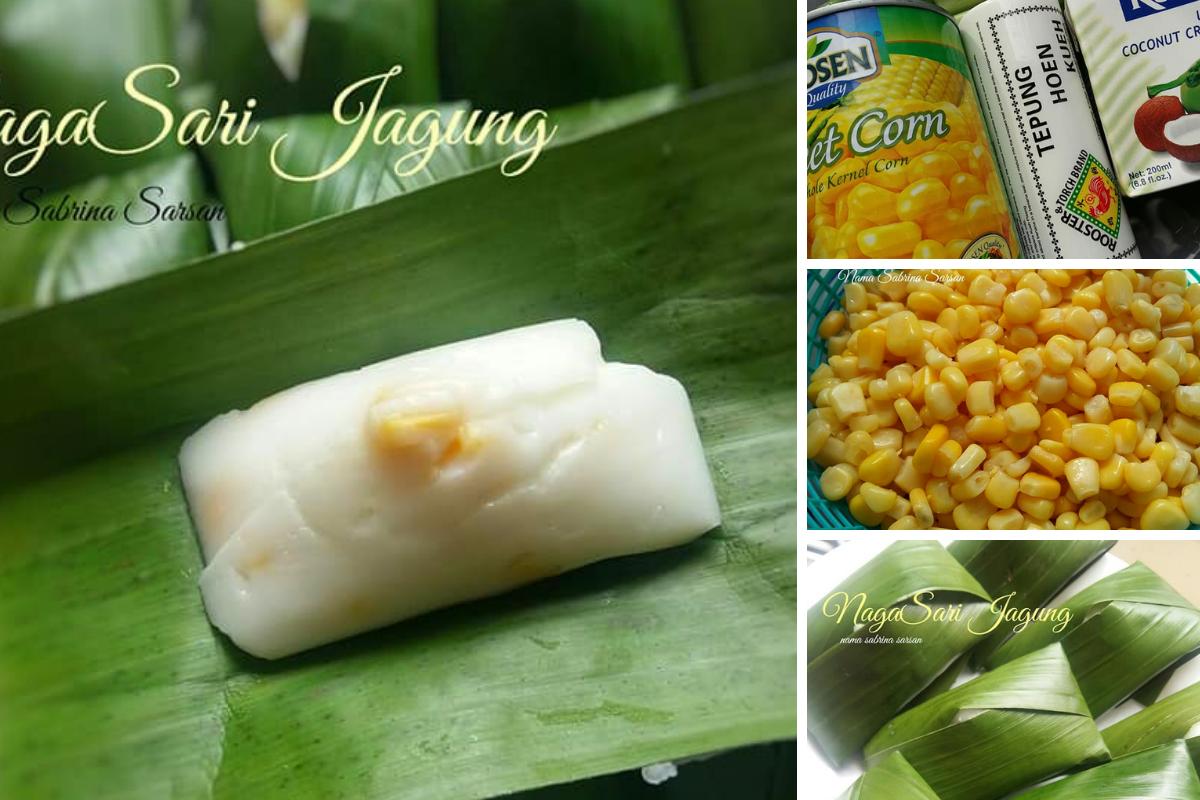 Cara Mudah Untuk Buat Kuih Nagasari Sedap Bagi Anda Yang Tiada Periuk Kukusan Spicy Recipes Food Cara