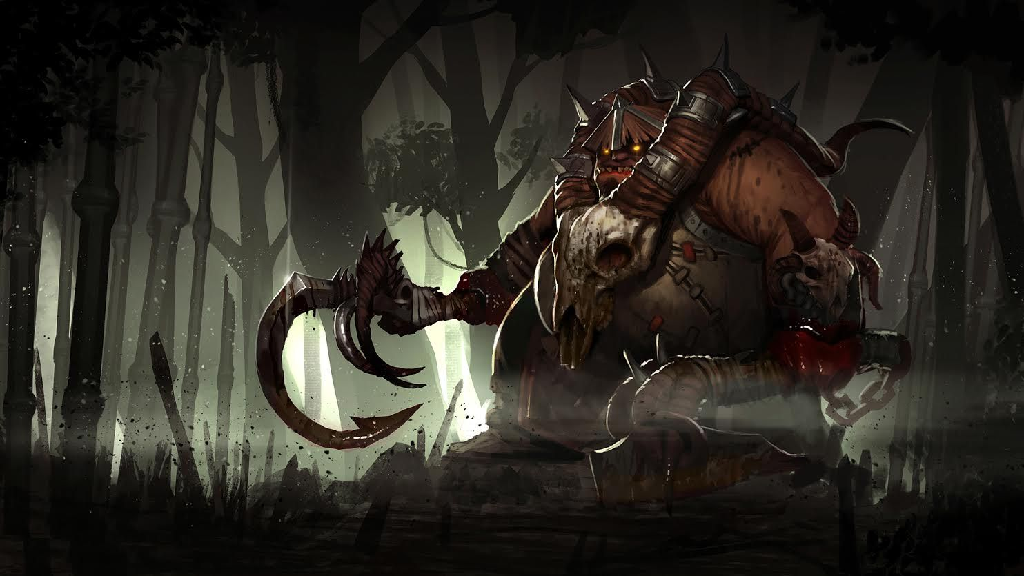 phomatba s necropsy loading screen pudge dota 2 pinterest