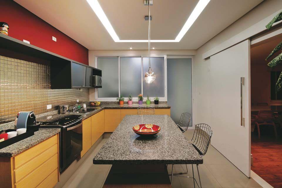 Oito Exemplos De Boa Iluminacao Na Cozinha Com Imagens