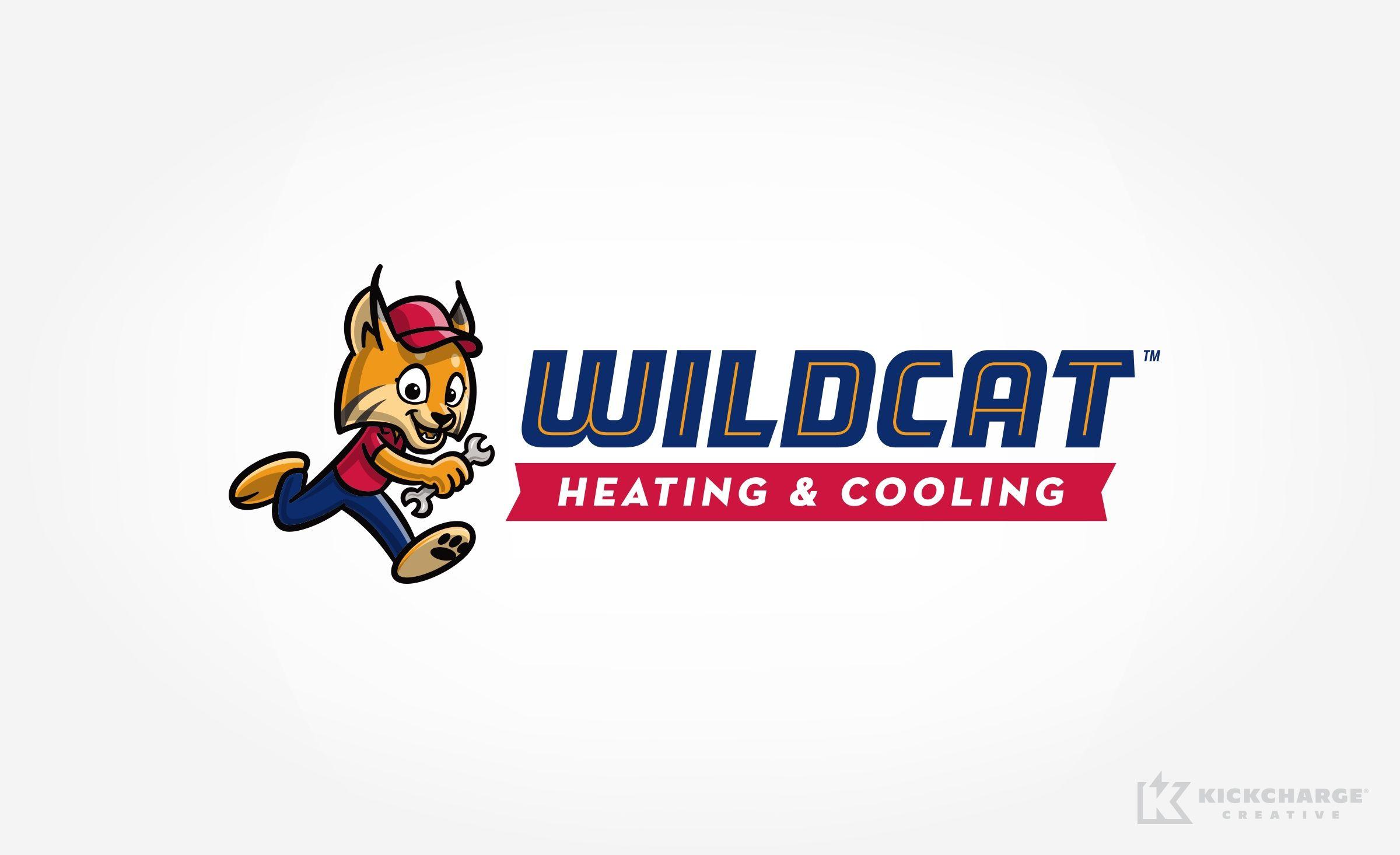 Logo Design For Wildcat Heating Cooling Nj Advertising Agency