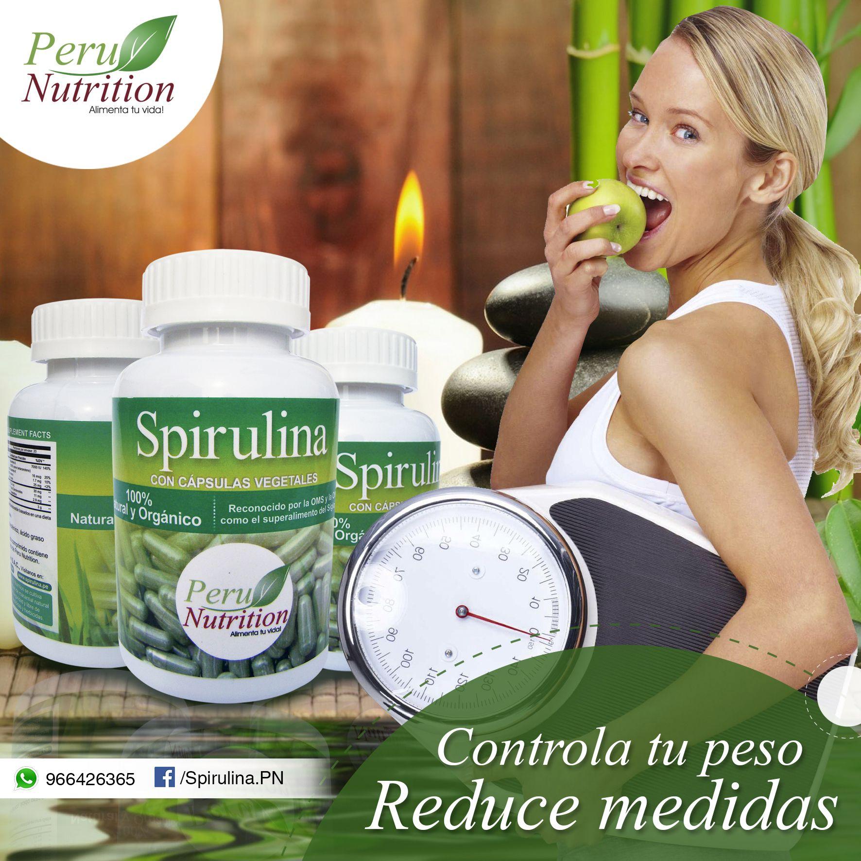 La Spirulina es un suplemento muy efectivo para bajar de..