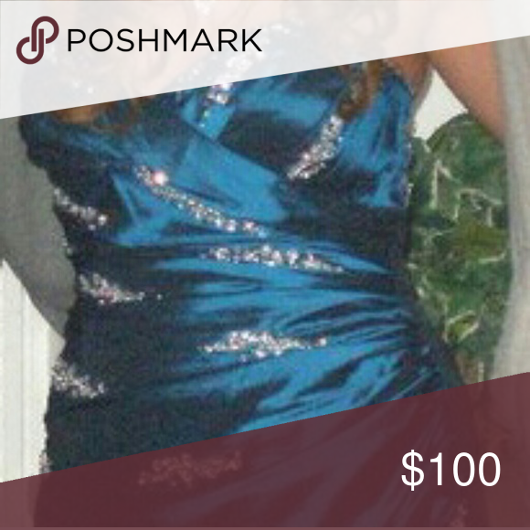 Dress Elegant dress with rhinestones Dresses Prom