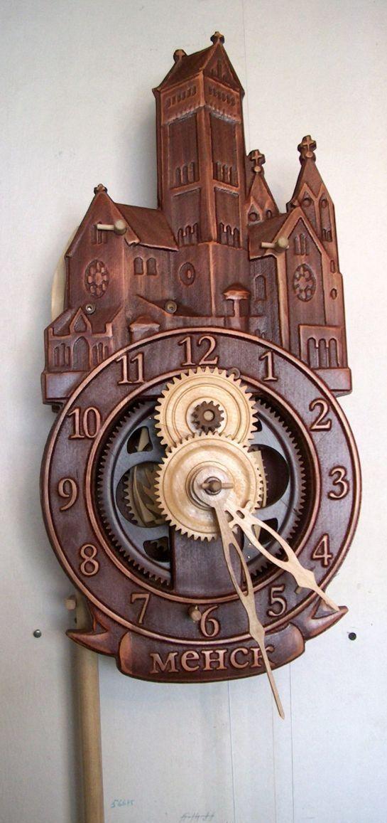 Как сделать часы из дерева своими руками