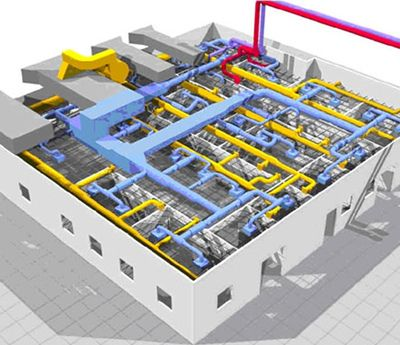 Hvac Drafting And Drawings Building Information Modeling