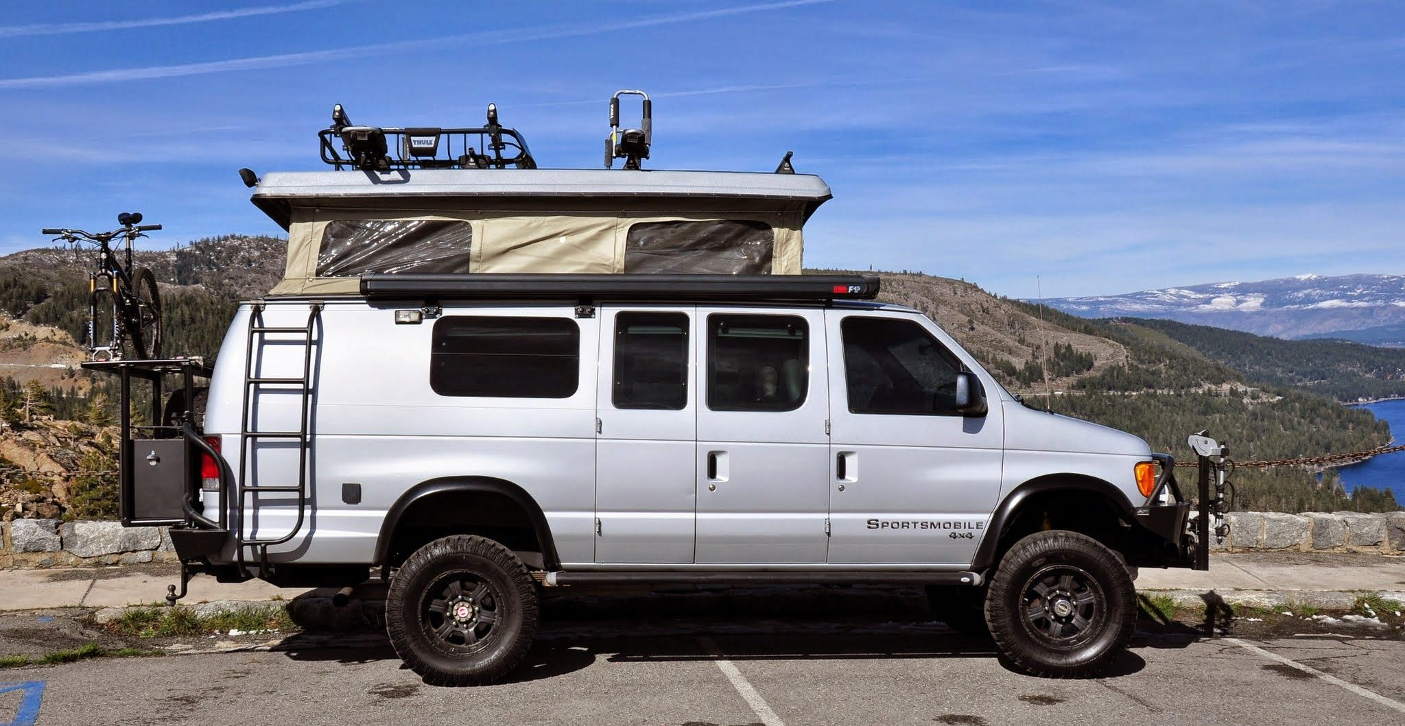 sportsmobile offers 50 camper van plans or will customize to meet your camping travel
