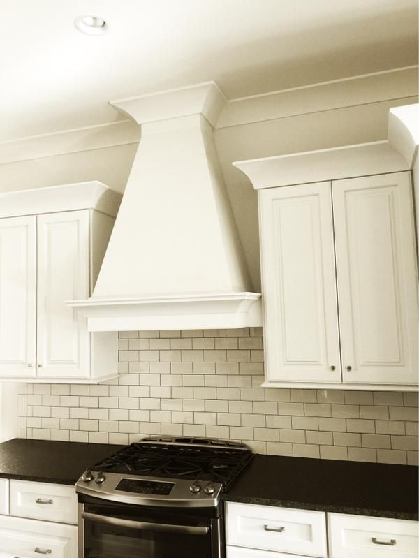 Recently completed kitchen by Meridian Construction.