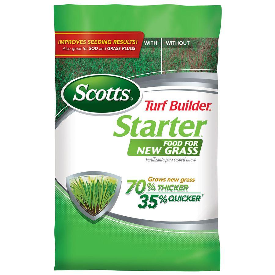 Scotts Turf Builder Starter Food For New Grass 15 Lb 5000 Sq Ft 24 25 4 Lawn Starter Lowes Com Turf Builder Lawn Fertilizer Lawn Food