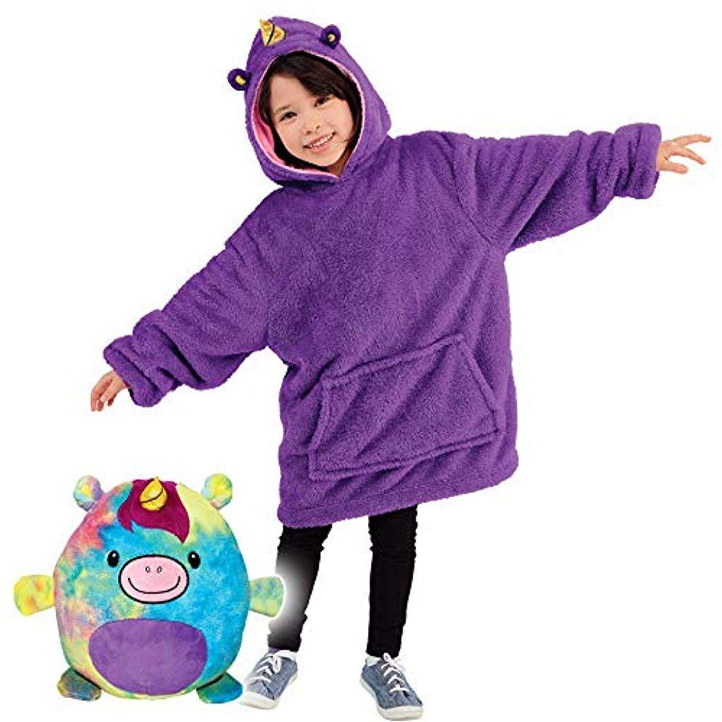 Blanket Sweatshirt Huggle Pets Hoodie Plush Animals Turn Into Oversized Hooded Sweatshirt With Giant Pocket Pullover Jumper B Hoodies Kids Hoodie Buy Hoodies