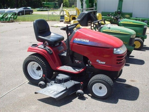 Midwest Machinery Co Craftsman Gt5000 With Images Mowers