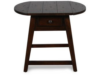 Broyhill Attic Heirlooms Rustic Splay Leg End Table Living Room