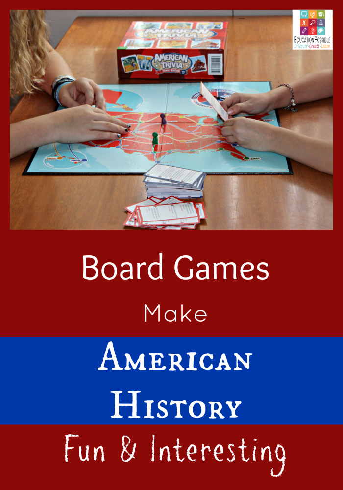 Board Games Are A Simple Way To Make American History Fun