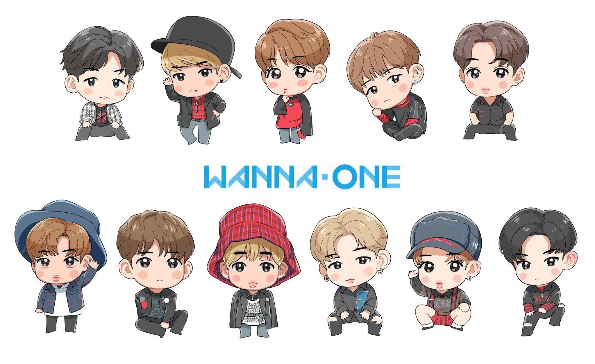 Pin Oleh Ummu Hanifah Di Wanna One Lucu Meme Stiker