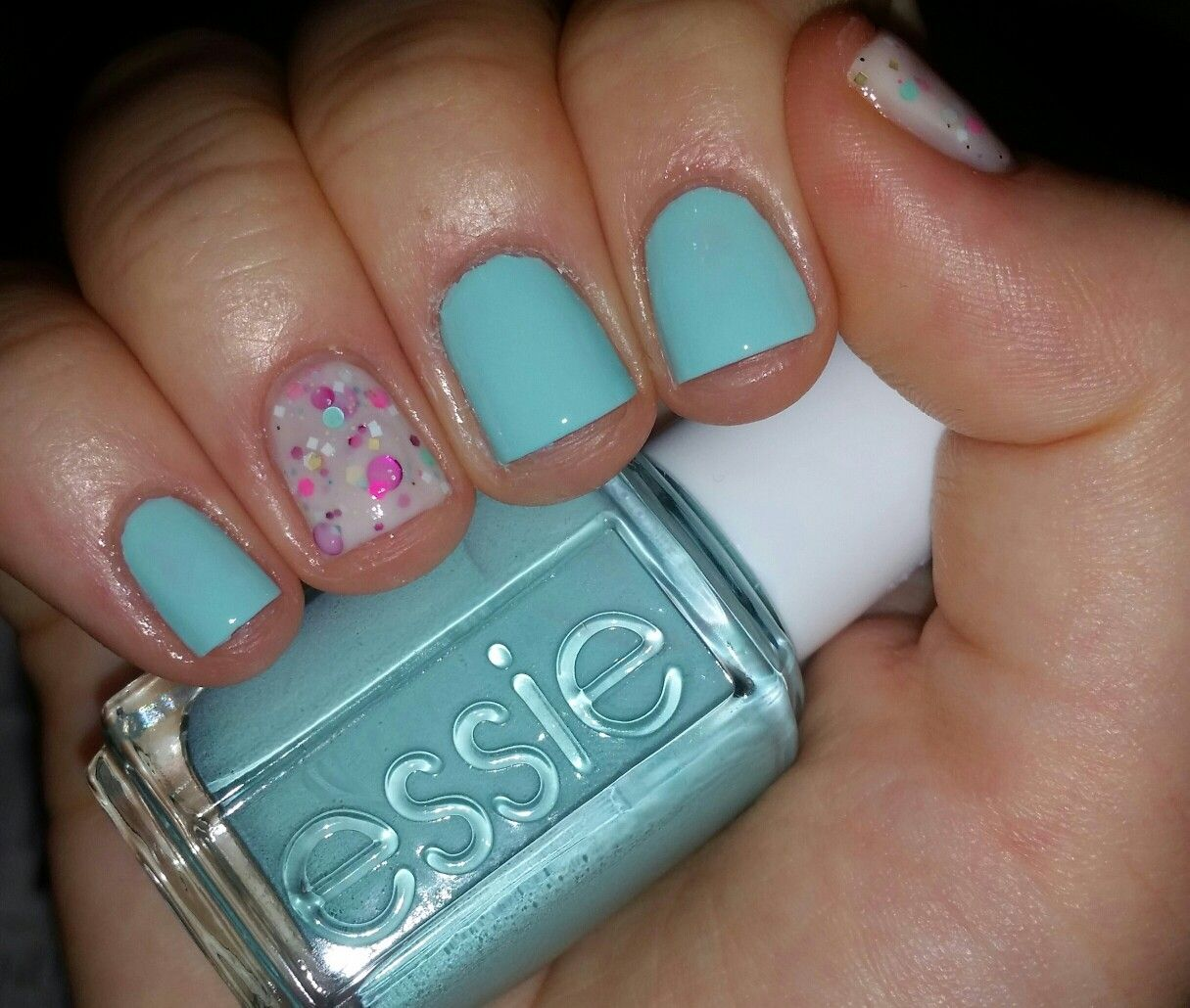 Essie: \'Blossom Dandy\' + Candied Apple Polish: \'Tea \'n Crumpets ...