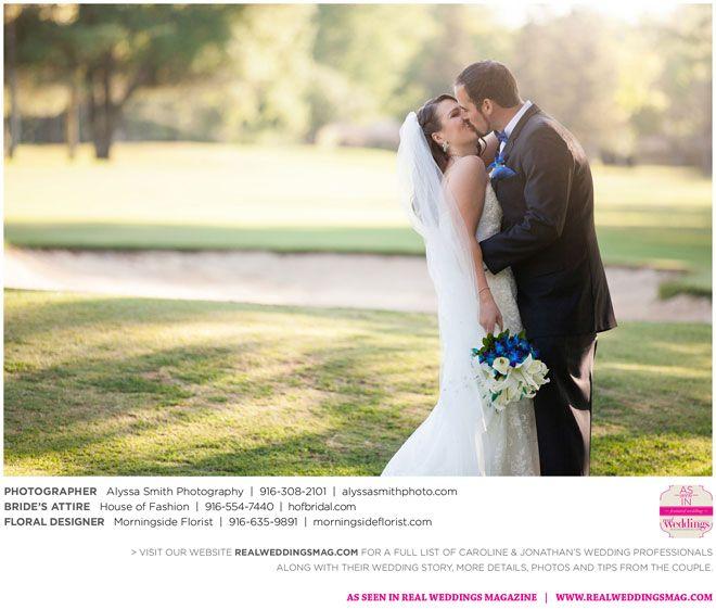 Sacramento Wedding Inspiration: Caroline & Jonathan {from