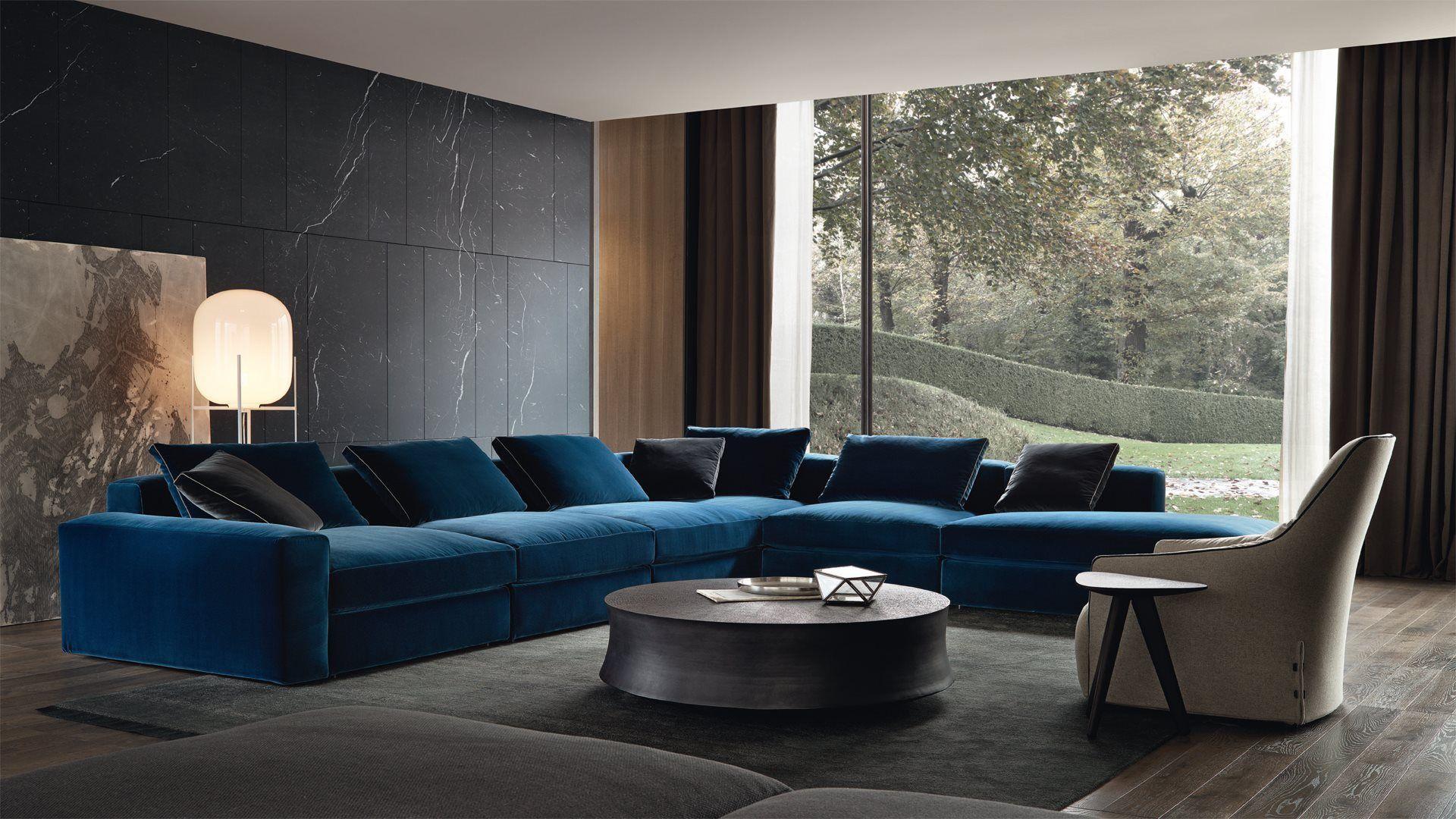 Poliform Furniture Design Living Room Apartment Interior Design Modern Contemporary Interior Design