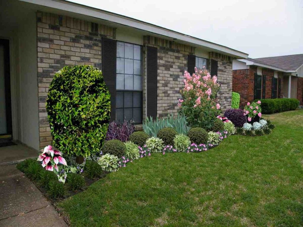 Front Yard Landscaping Ideas For Ranch Style Homes Front Yard