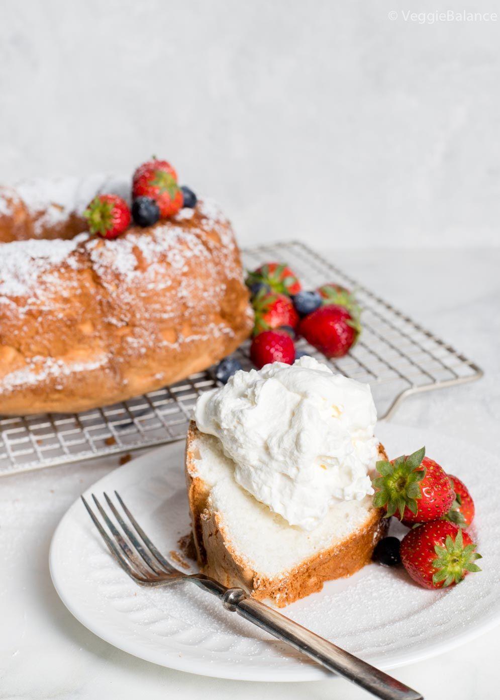Gluten free angel food cake easy recipes by veggie