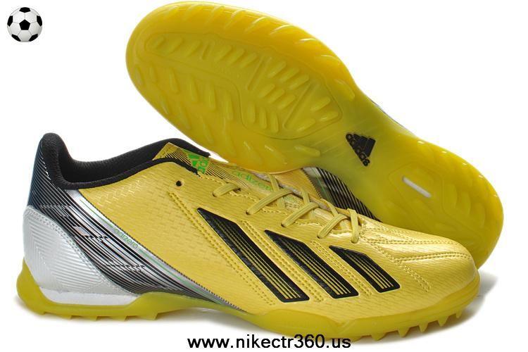 Cheap Adidas F10 TRX TF Yellow Black Green For Sale