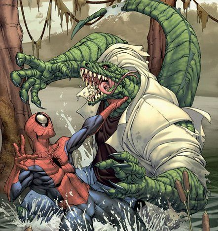 Spider Man Vs The Lizard Spiderman Superhero Comic Comic