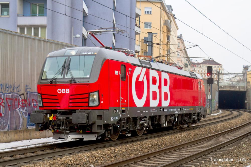 Obb 1293 001 Wien Rennweg Bahnhof Trainspo Eisenbahn Bahnhof Lokomotive