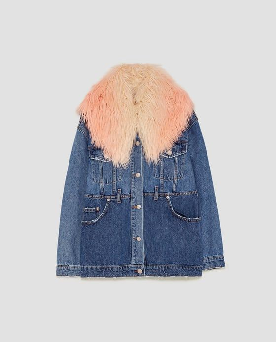 Image 8 of THE RECONSTRUCTED DENIM JACKET from Zara