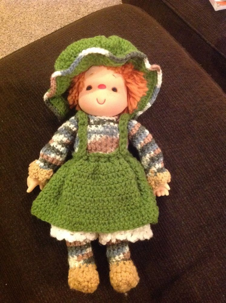 Strawberry Shortcake Doll Vintage, Hand crocheted Outfit | 80\'s ...