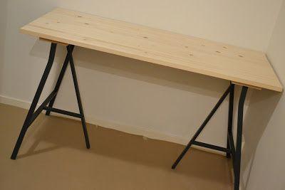 KROnPRINSESSENE: DIY skrivebord