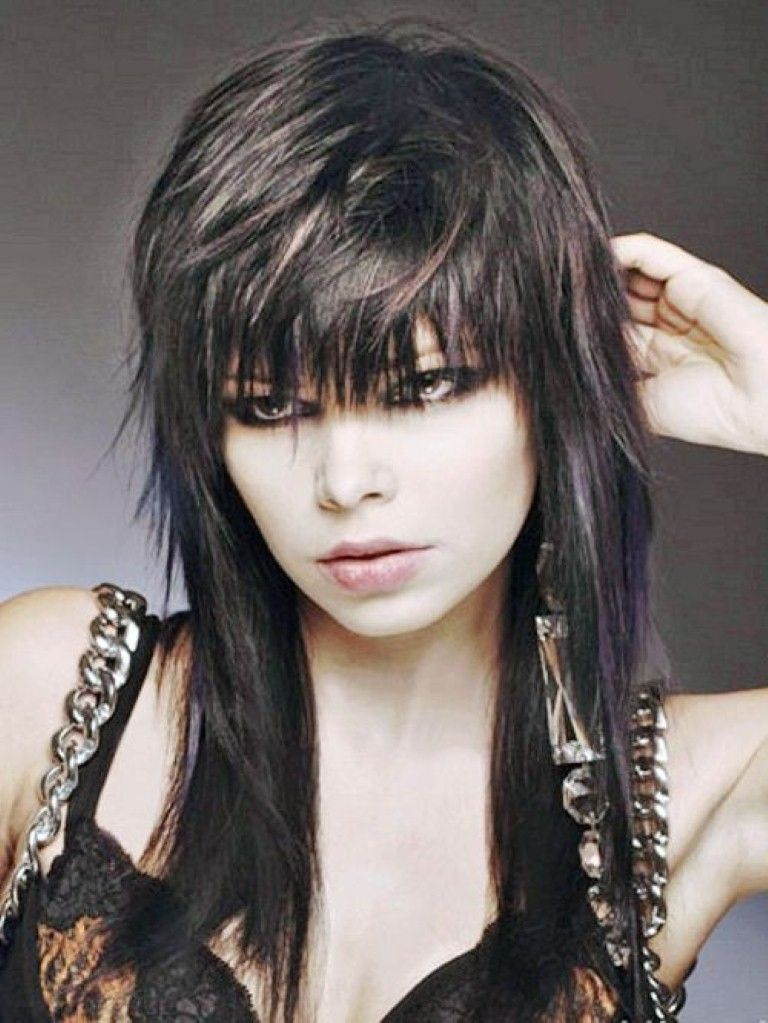 Rocker Hairstyles For Women Hairstyles For Women Rocker Hair Edgy Hair Hair Styles