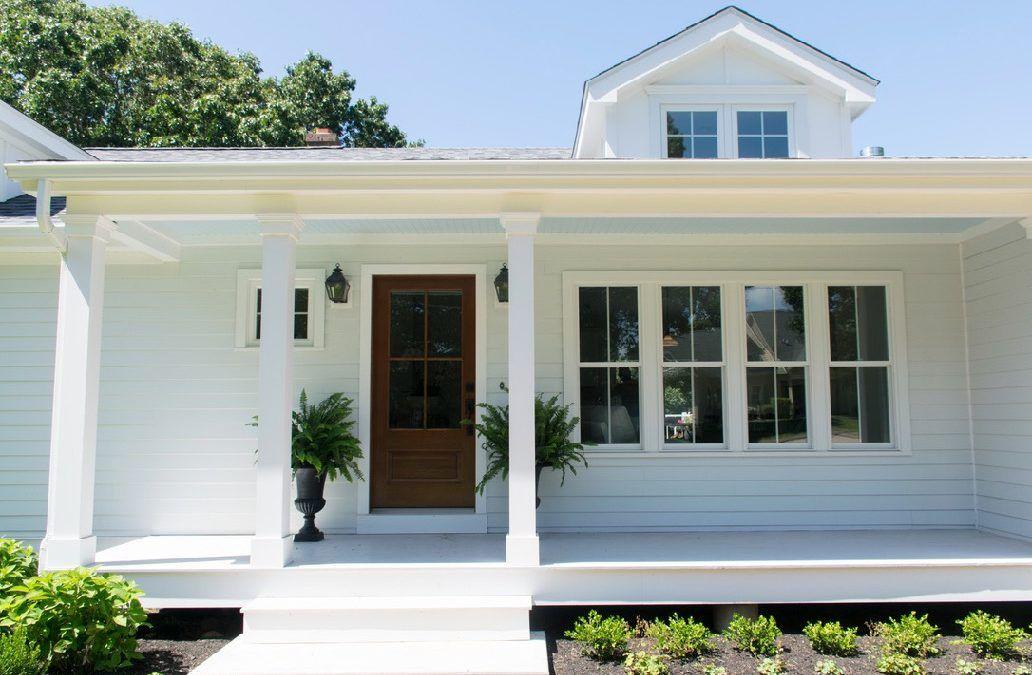 Coastal Cottage Exterior Makeover Cottage exterior