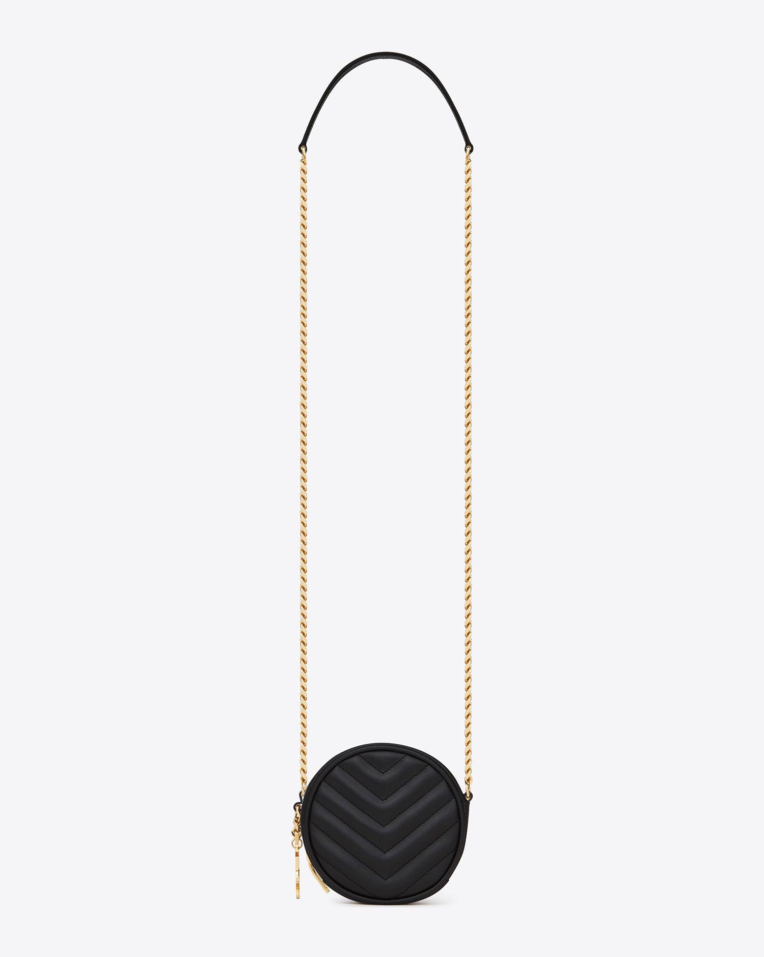 8798634a21 Saint Laurent Small Monogram Saint Laurent Bubble Bag In Black ...