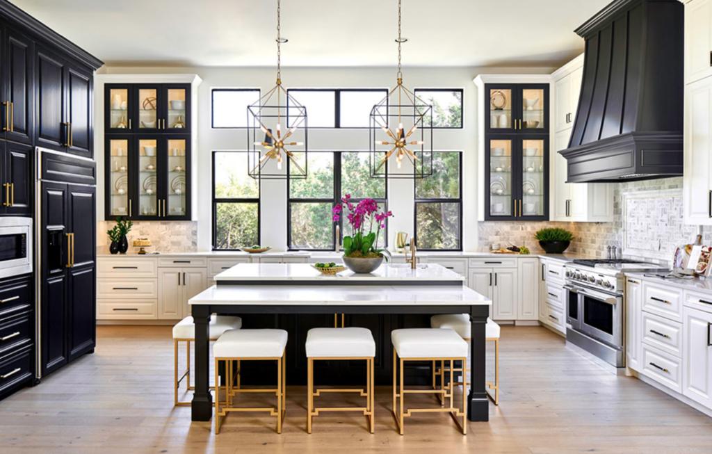 the 15 most beautiful modern farmhouse kitchens on pinterest with images modern farmhouse on kitchen interior farmhouse id=46926