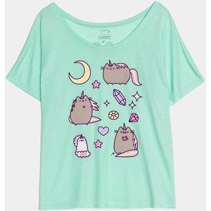 Pusheenicorn ladies relaxed tee