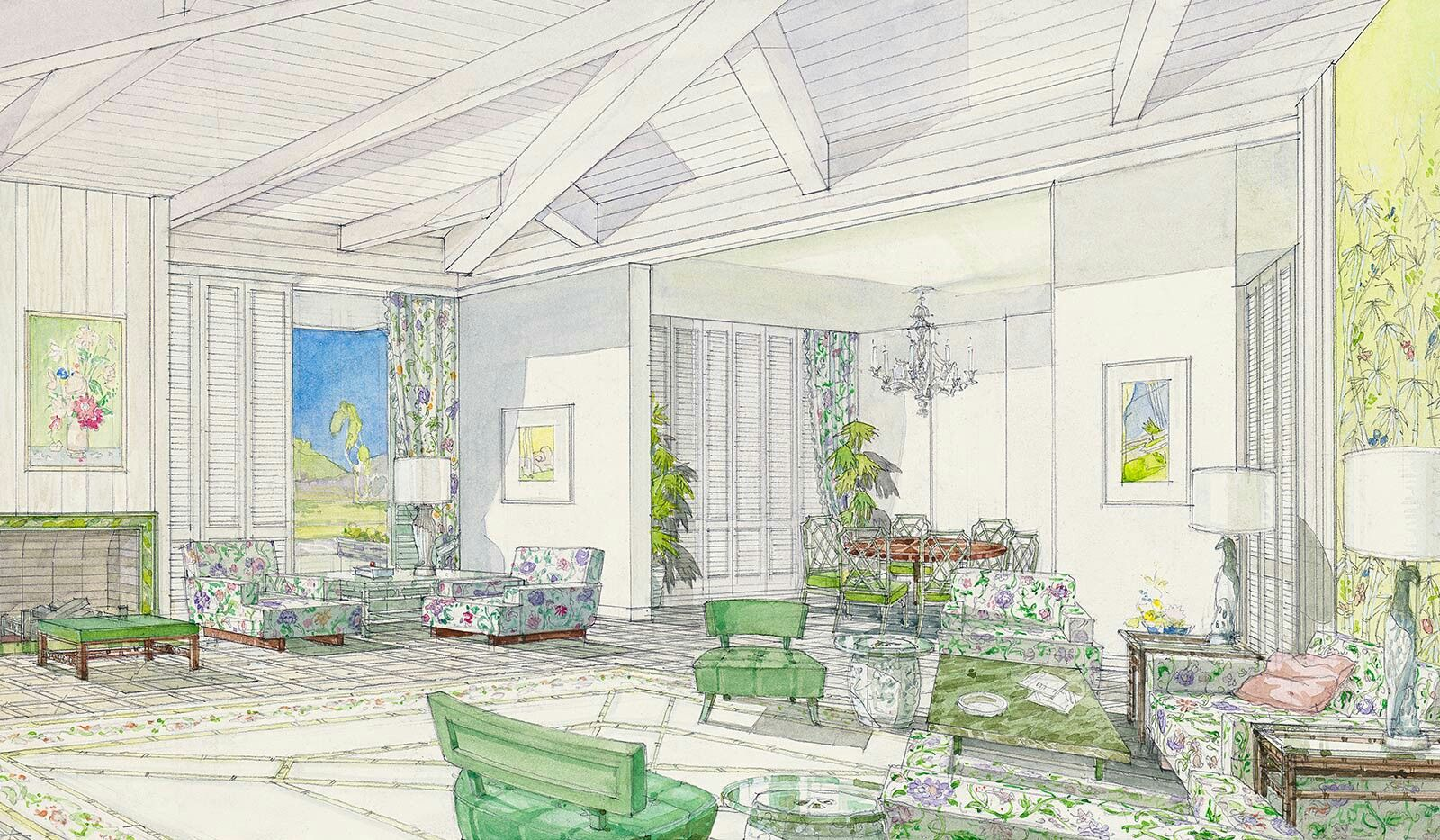William Haines 1960\'s Hollywood | living room | Pinterest | Living ...