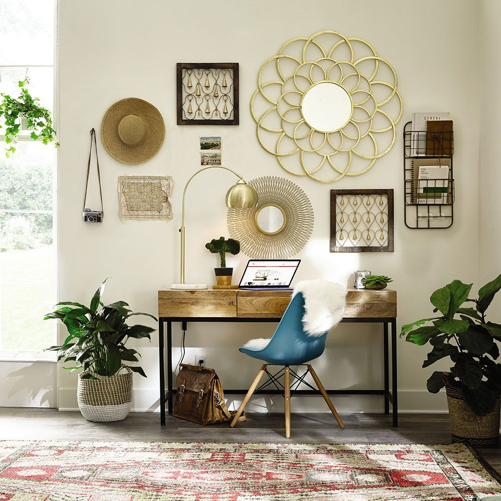 Boho Bungalow Office (With images) Home decor, Furniture