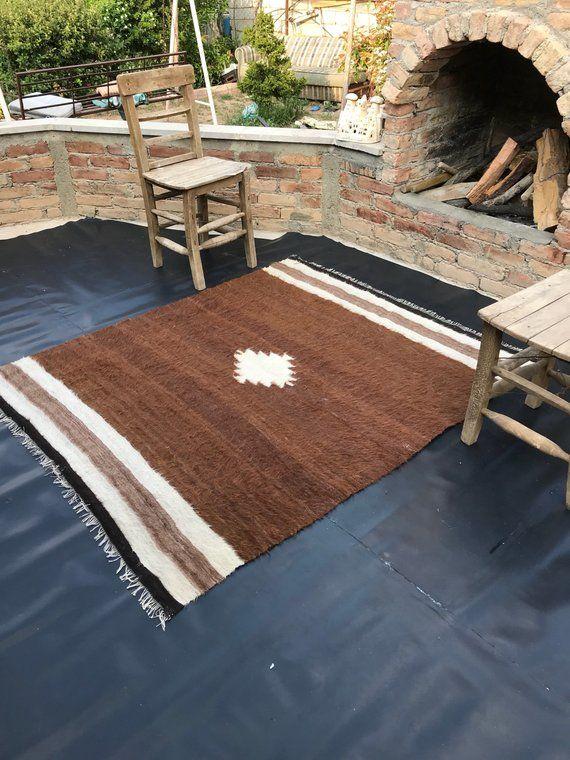 Turkish Rug, Vintage Area Rug, Vintage Carpet, Kilim Rug, Living