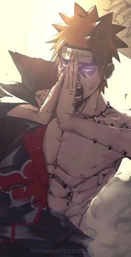 | Save & Follow | Pain • Live Wallpaper • Naruto Shippuden