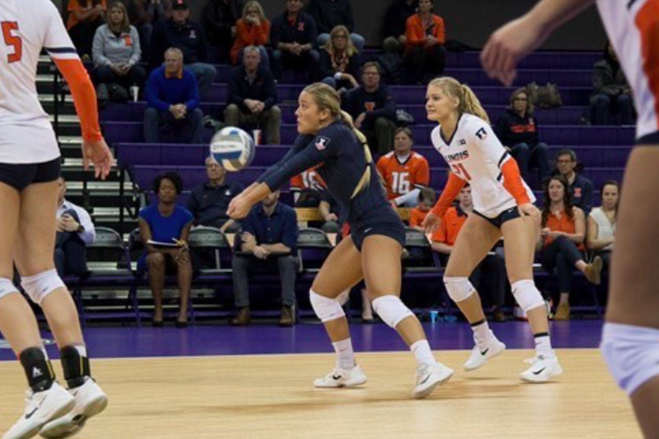 How To Watch Illinois Volleyball Vs Washington Game Time Online Streaming And Quick Hits Volleyball Online Streaming Illinois Fighting Illini