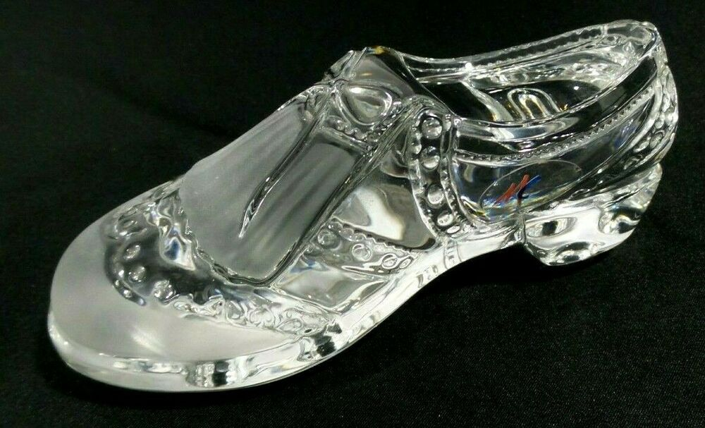 a1ef5f4ae36 Crystal Clear Glass Golf Shoe Paperweight 6