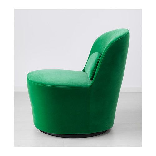 Stockholm swivel easy chair sandbacka green ikea dwelling place ikea chair et furniture - Ikea chaise stockholm ...