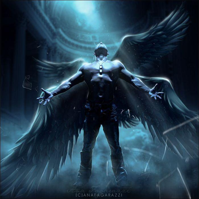"""""""Ангелы и демоны""""-3. Арт фото.. Обсуждение на LiveInternet ..."""
