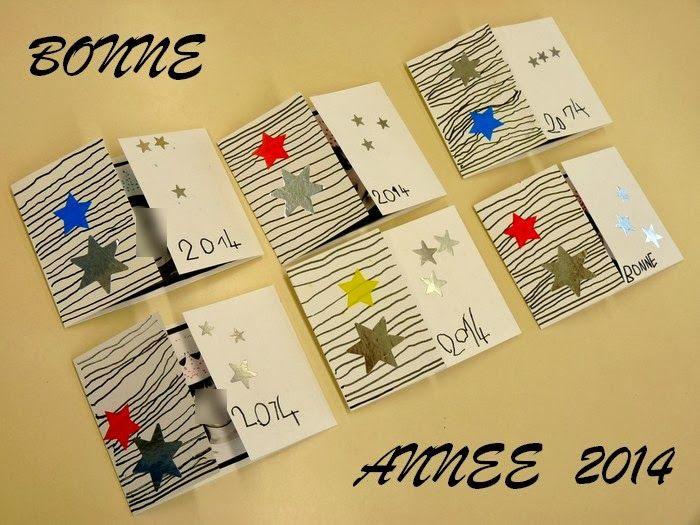 carte de bonne année maternelle Une carte BONNE ANNEE | Carte bonne année, Carte noel maternelle