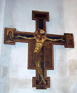 Cristo de la Iglesia de Santo Domingo de Bolonia. (1236). Giunta Pisano