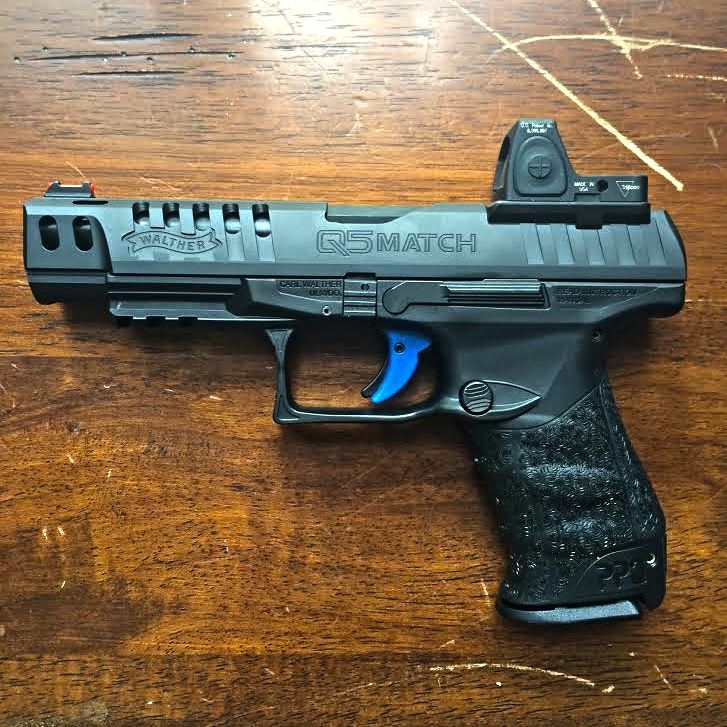 Today's EDC: Q5 Match from Walther - DARA HOLSTERS & GEAR | Race