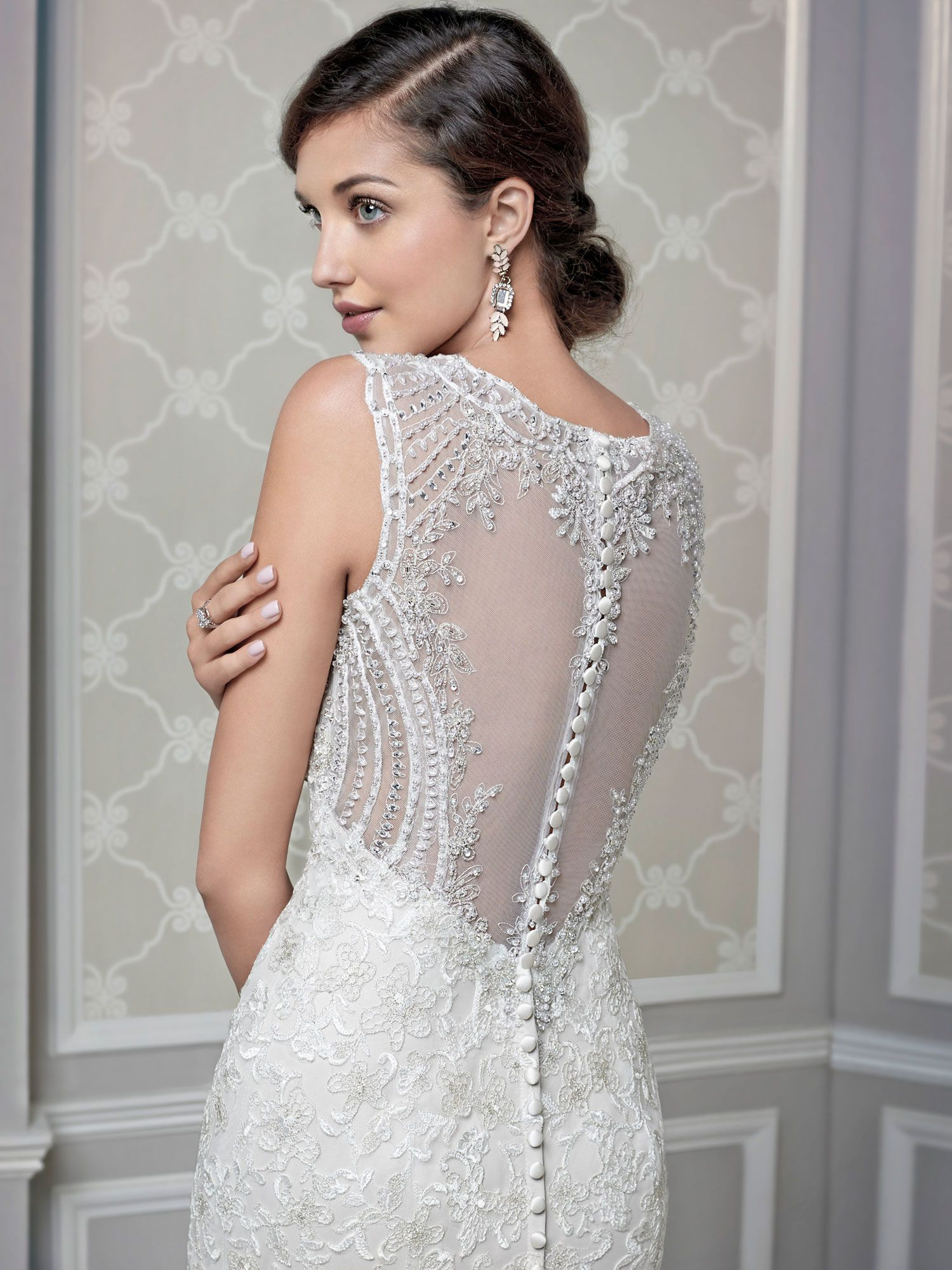 Kenneth winston 1593 an intricate back composed of timeless kenneth winston wedding dress 1593 intricate back piece inspired by timeless mosaic details of beadwork and soft floral embroidery ombrellifo Gallery