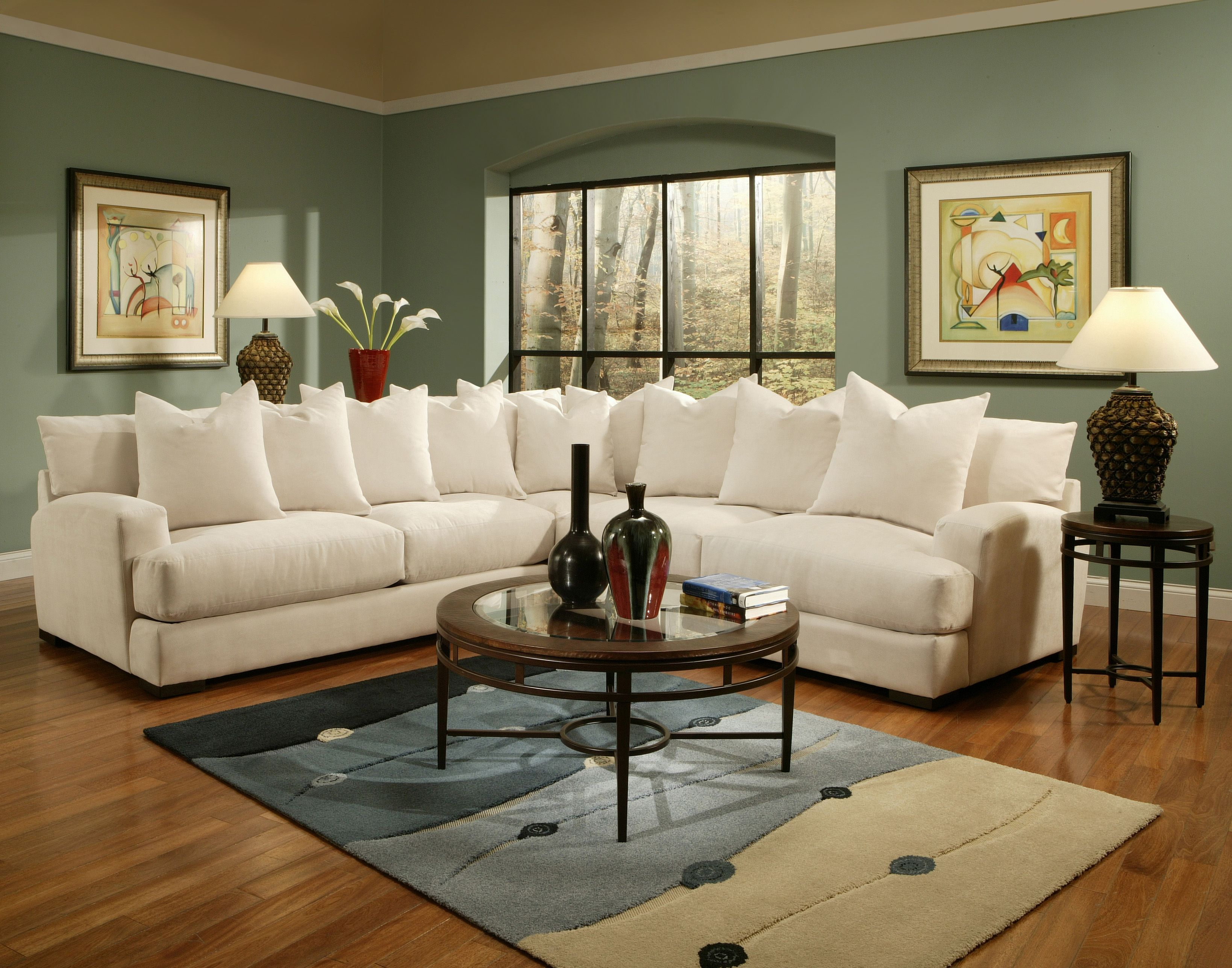Carlin Sectional In Multiple Configurations Sofa Loveseat Chair Ottoman Accent Chairs Ottomans Also Available Sectional Sofa Furniture Custom Sofa