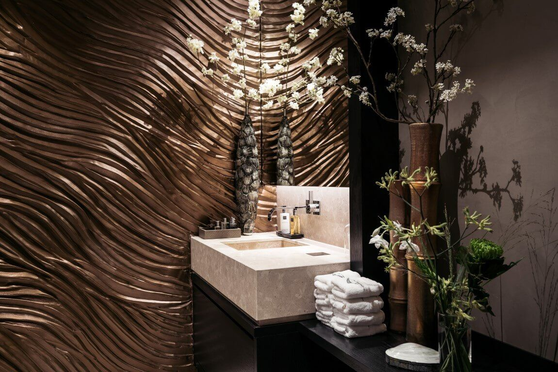 Oosterse styling in badkamer | CMI | Interieur styling | Pinterest