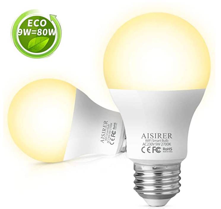 Aisirer Led Wlan Lampe In 2020 Led Led Lampe Gluhbirne