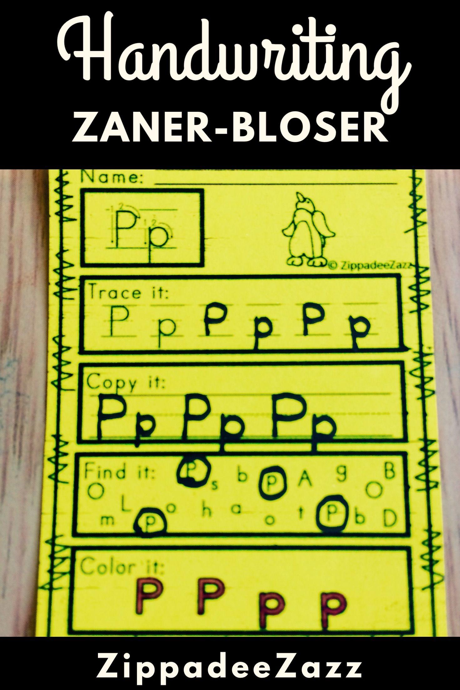 Worksheets Zaner Bloser Handwriting Worksheets worksheets for zaner bloser handwriting practice practice