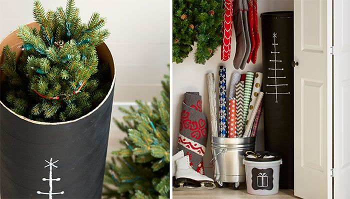 Space Saving Christmas Tree Storage Christmas Tree Storage Christmas Tree Storage Bag Diy Christmas Tree Storage