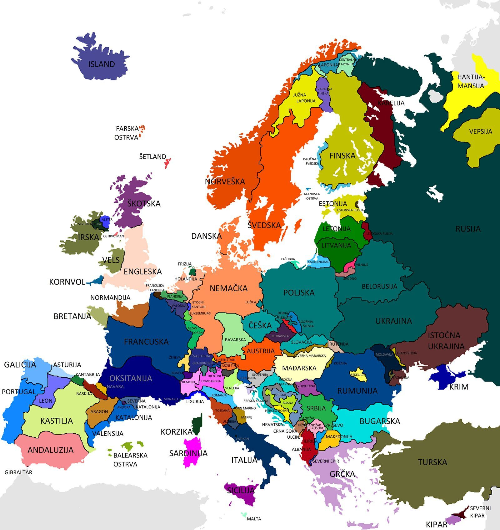 map of europe in future Future Feudal Europe by VittorioMatteo | Europe, Map art